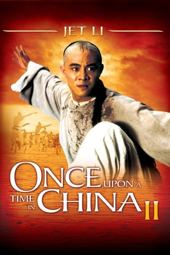Once Upon a Time in China II Poster