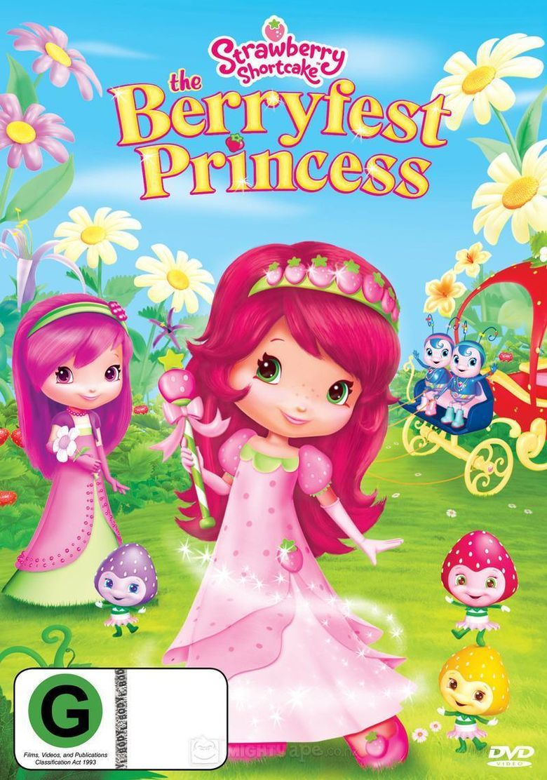 Strawberry Shortcake: The Berryfest Princess Poster