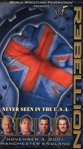 WWE Rebellion 2001 Poster