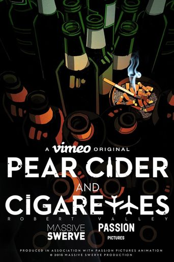 Pear Cider and Cigarettes Poster