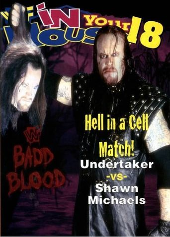 WWE Badd Blood: In Your House Poster