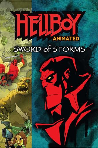 Hellboy Animated: Sword of Storms Poster