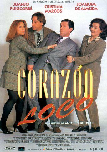 Corazón loco Poster