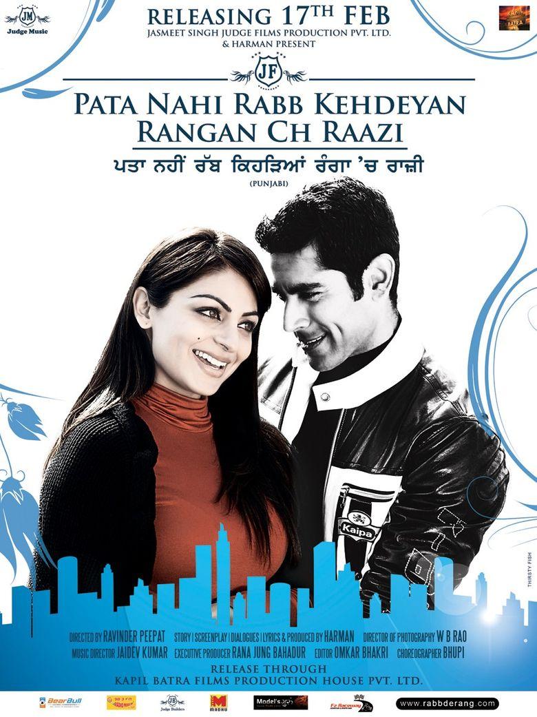 Pata Nahi Rabb Kehdeyan Rangan Ch Raazi Poster