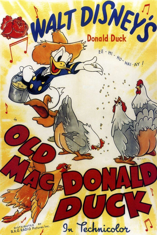 Old MacDonald Duck Poster