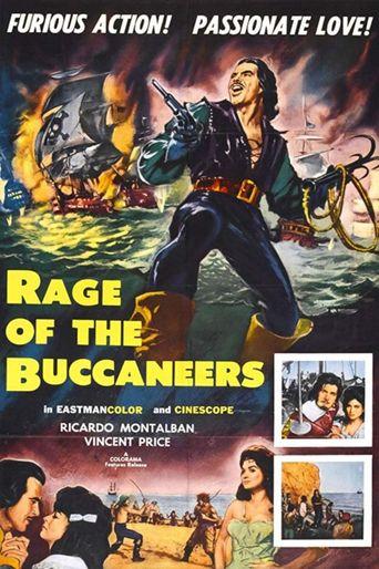 Rage of the Buccaneers Poster