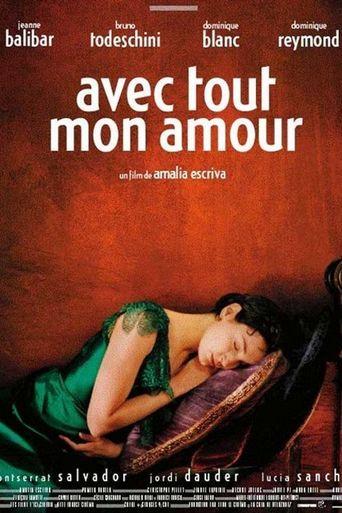 Avec tout mon amour Poster