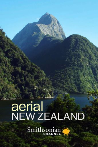 Aerial New Zealand Poster
