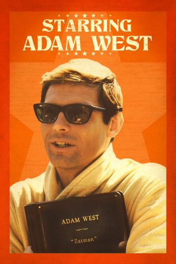 Starring Adam West Poster