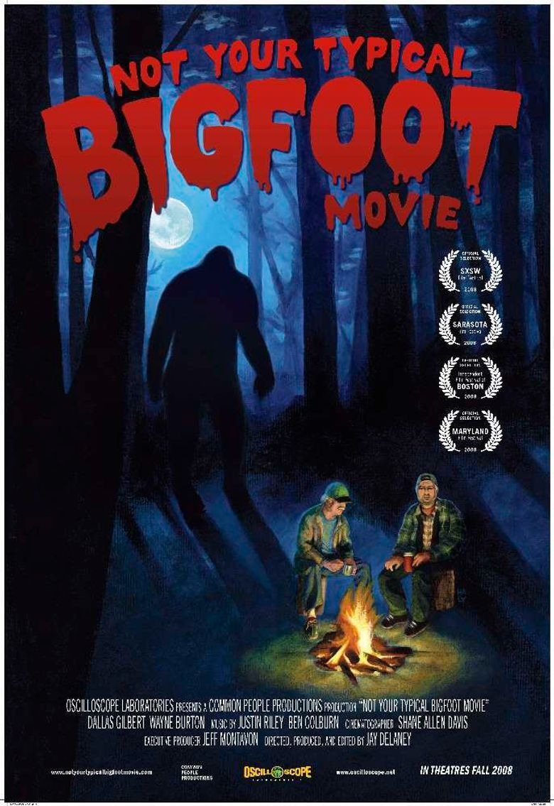 Not Your Typical Bigfoot Movie Poster