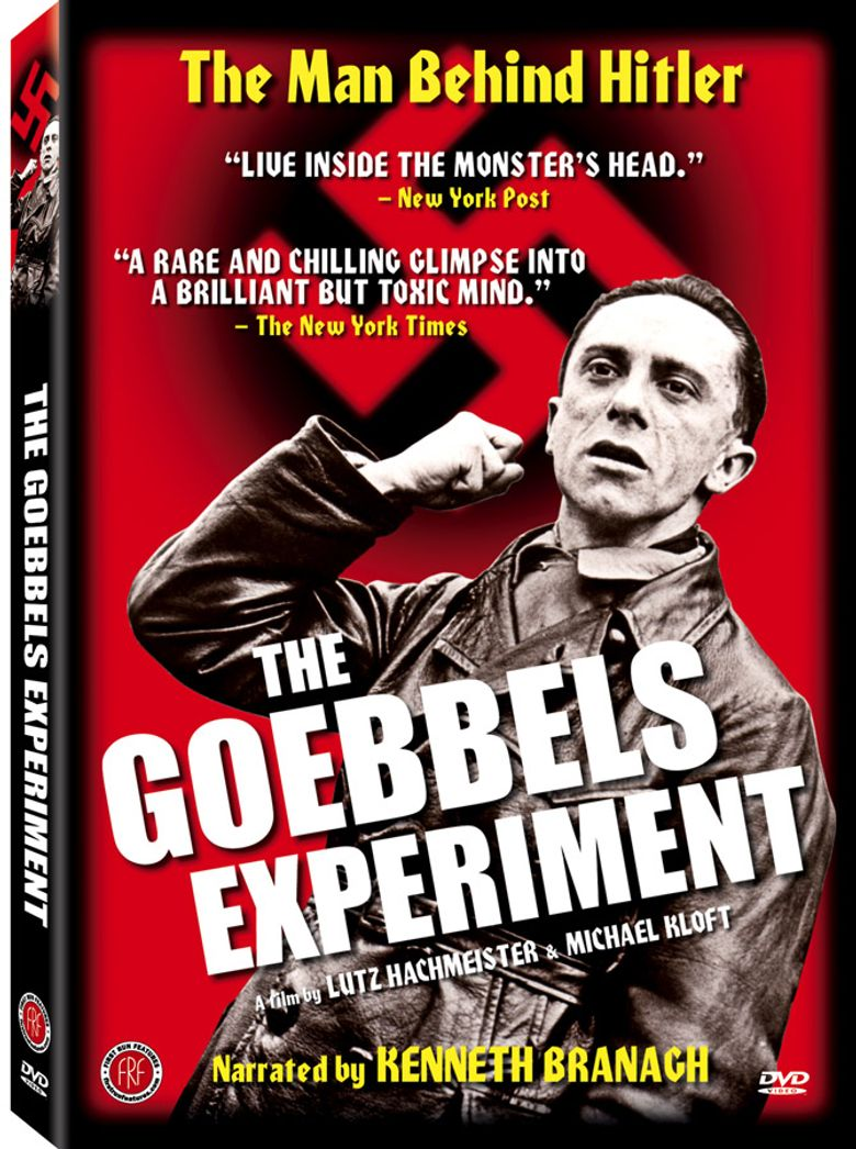 The Goebbels Experiment Poster