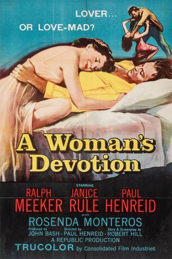 A Woman's Devotion Poster