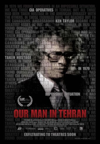 Our Man in Tehran Poster