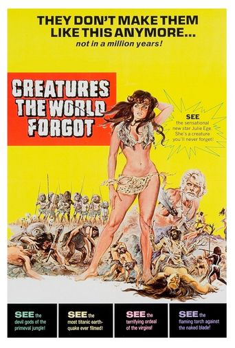 Creatures the World Forgot Poster