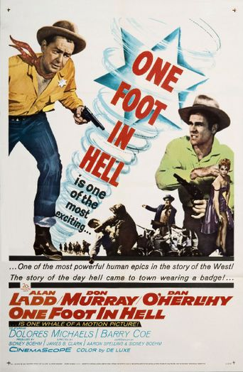 One Foot in Hell Poster
