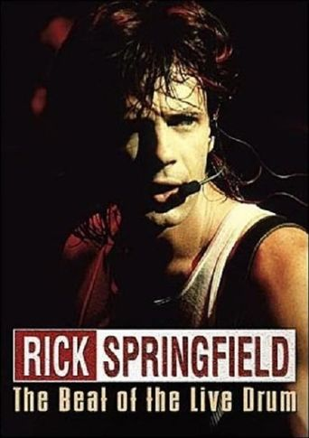 Rick Springfield: The Beat of the Live Drum Poster
