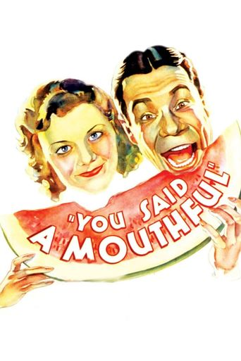 You Said a Mouthful Poster