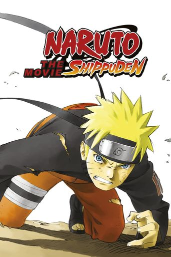 Naruto Shippuden: The Movie Poster