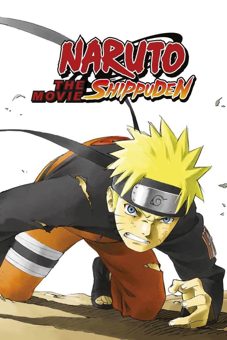 Naruto Shippuden the Movie Poster