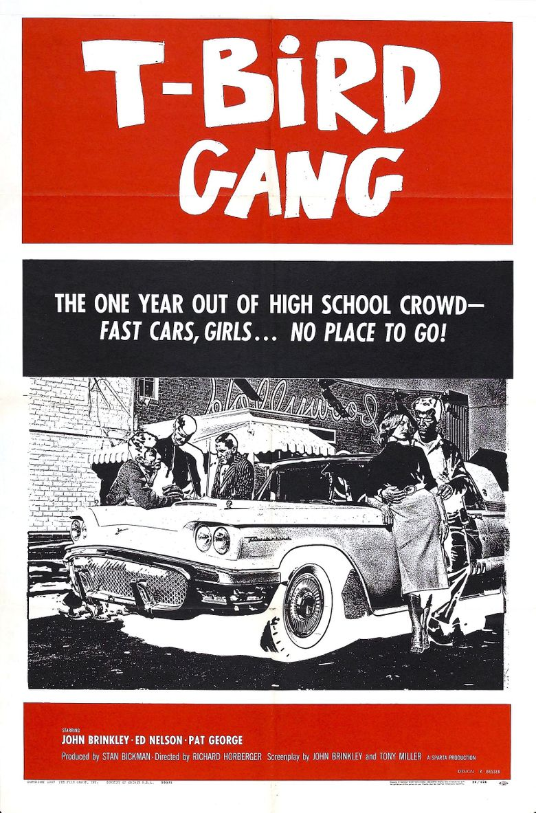 T-Bird Gang Poster