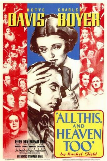 All This, and Heaven Too Poster