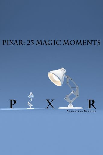 Pixar 25 Magic Moments Poster
