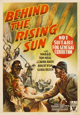 Behind the Rising Sun Poster