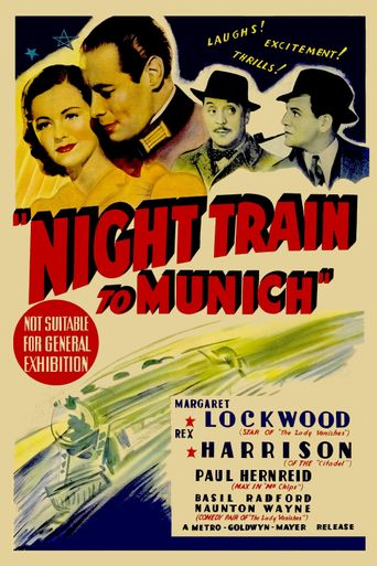 Night Train to Munich Poster