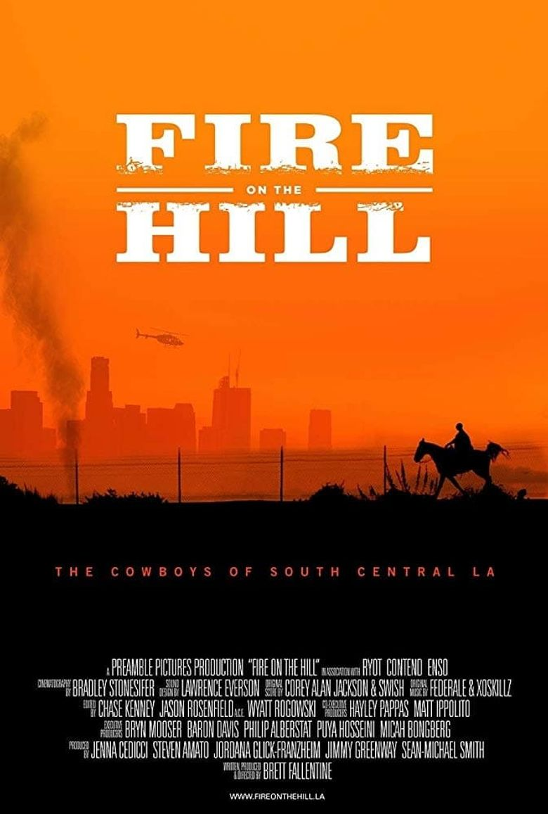 Fire on the Hill Poster