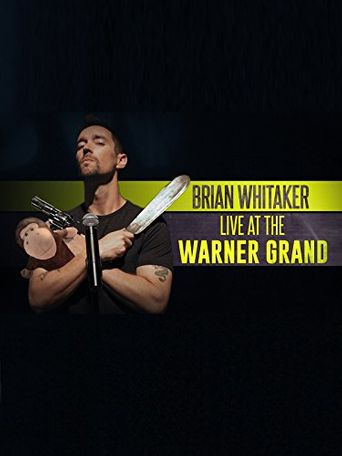 Brian Whitaker: Live at the Warner Grand Poster