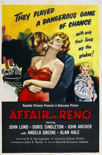 Affair in Reno Poster