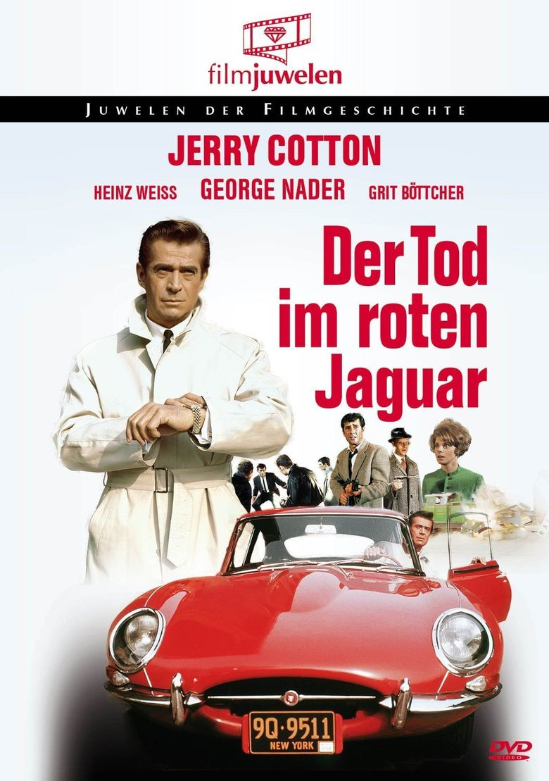 Jerry Cotton: Death In The Red Jaguar Poster