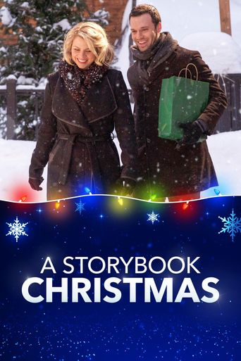 A Storybook Christmas Poster