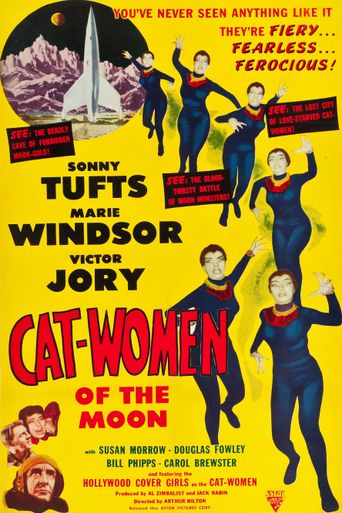 Cat-Women of the Moon Poster