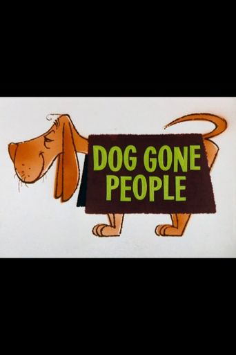Dog Gone People Poster
