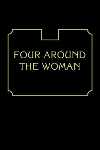 Four Around the Woman Poster