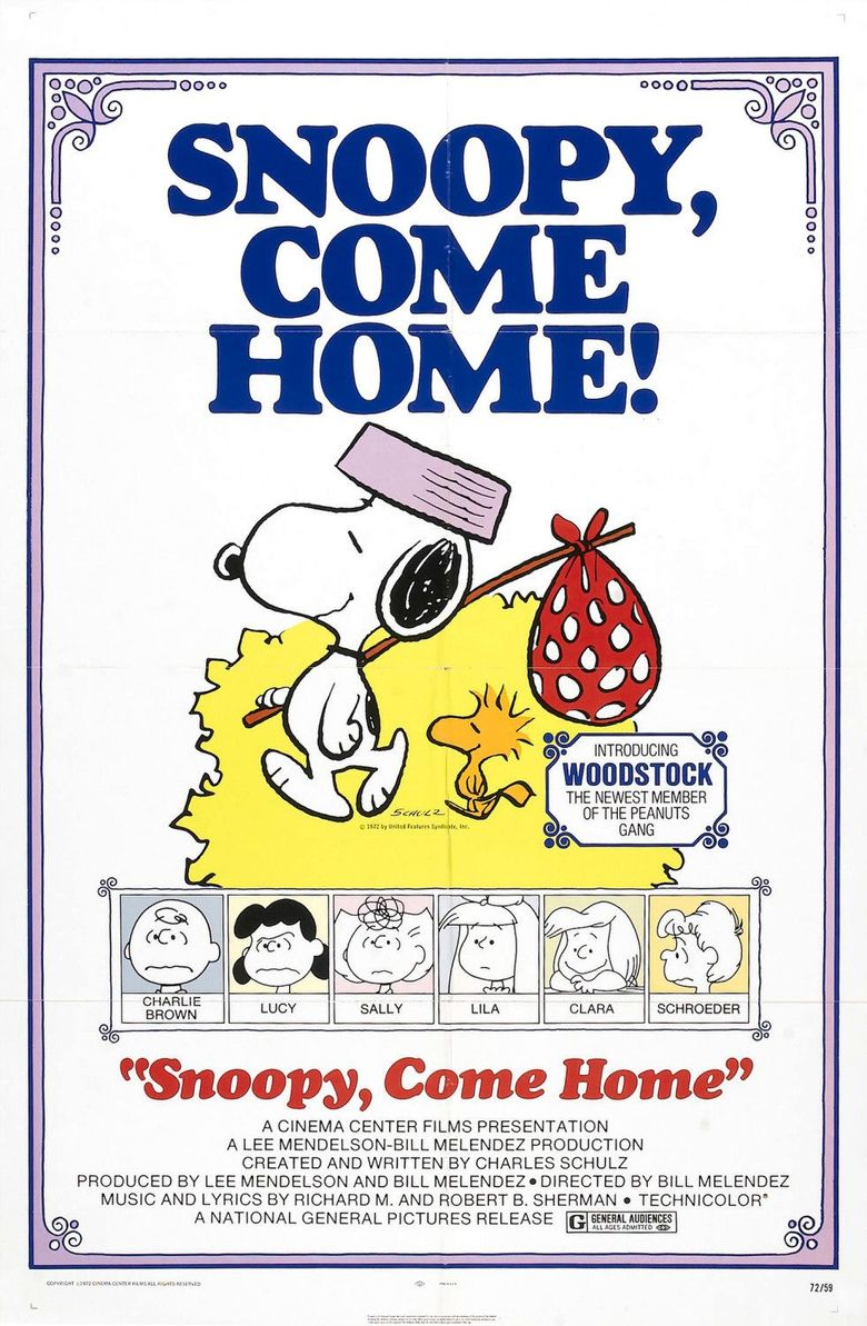 Snoopy, Come Home Poster