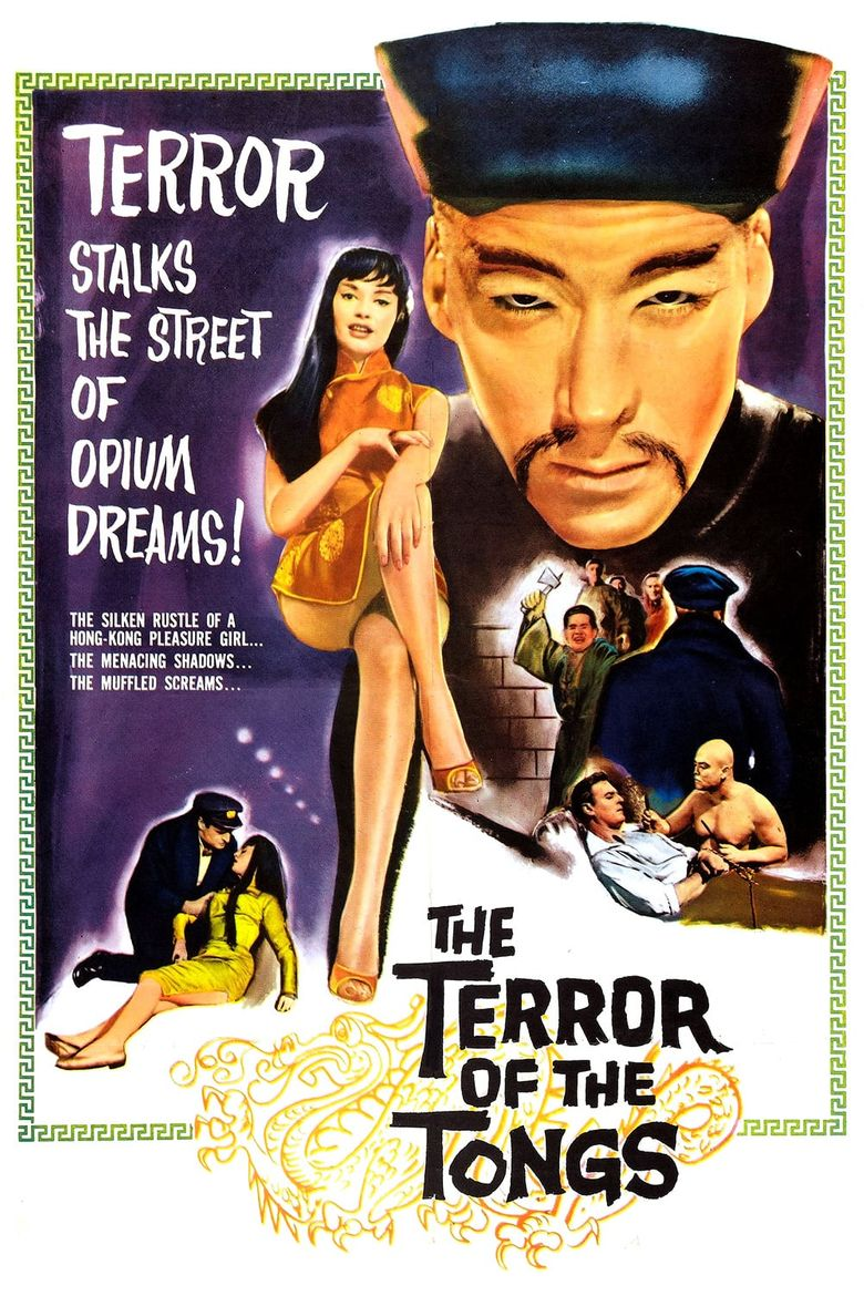 The Terror of the Tongs Poster