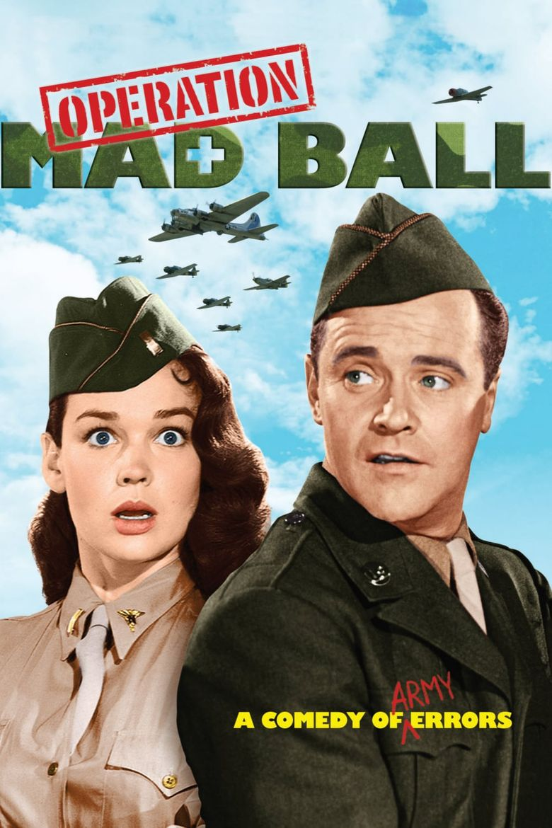 Operation Mad Ball Poster