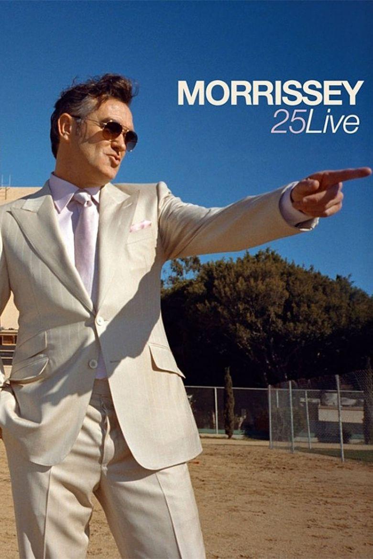 Morrissey: 25 Live Poster