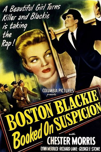 Boston Blackie Booked on Suspicion Poster