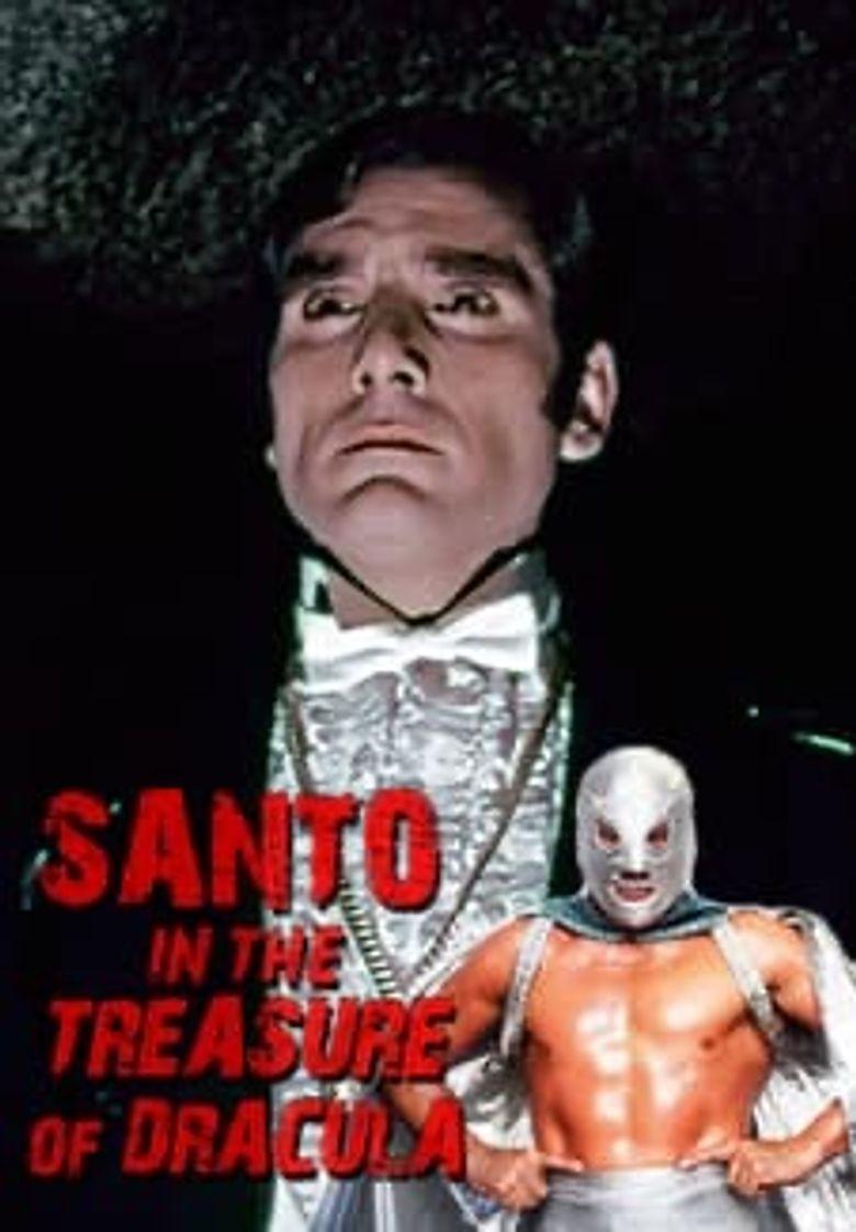 Santo and Dracula's Treasure Poster