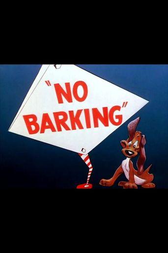 No Barking Poster