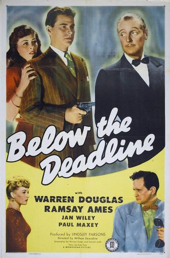 Below the Deadline Poster