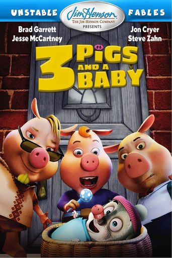 Unstable Fables: 3 Pigs & a Baby Poster