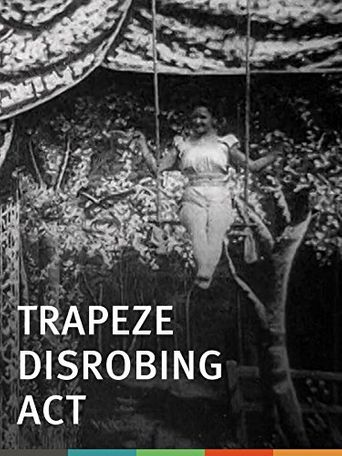 Trapeze Disrobing Act Poster