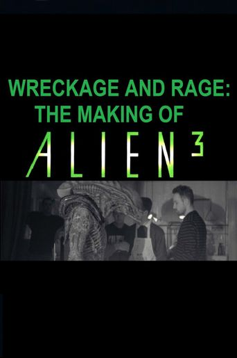 Wreckage and Rage: Making 'Alien³' Poster