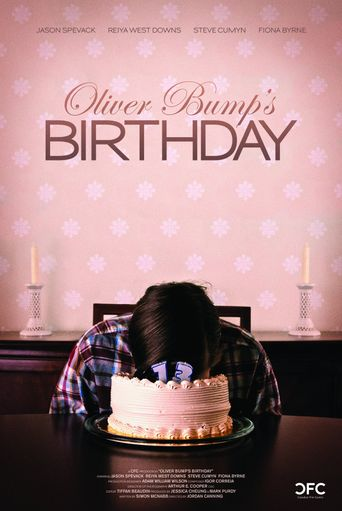 Oliver Bump's Birthday Poster