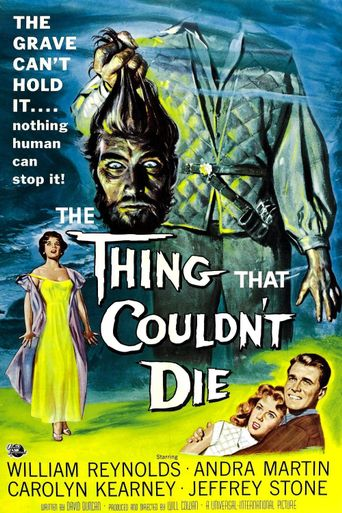 The Thing That Couldn't Die Poster