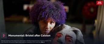 Monumental: Bristol After Colston Poster